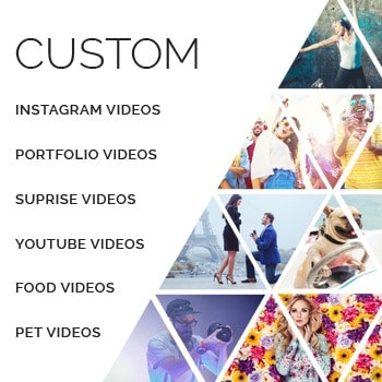 any video product image - Custom Video Editing Service