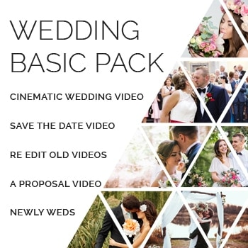 wedding basic pack - Time Lapse Video Editing Service