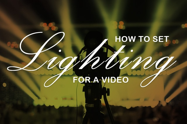 Top tips for the best lighting for YouTube videos